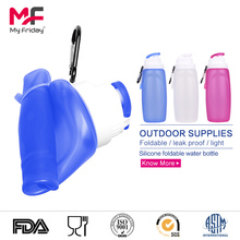 silicone drinking bottle eco squeeze silicone water bottle with silicone sleeve