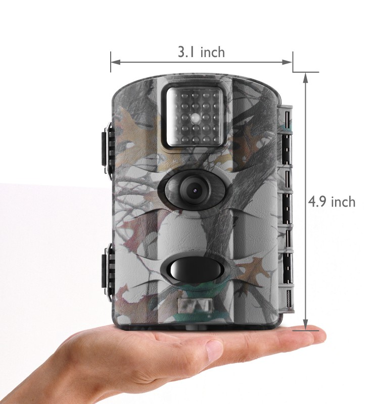 12MP/16MP Security Camera HD IP65 Waterproof Wildlife Night Vision Camera with Water Protect for Amazon's Choice