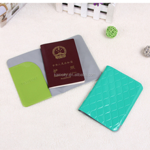 Eco-friendly Travel Shiny PVC Passport Cover or Passport Wallet