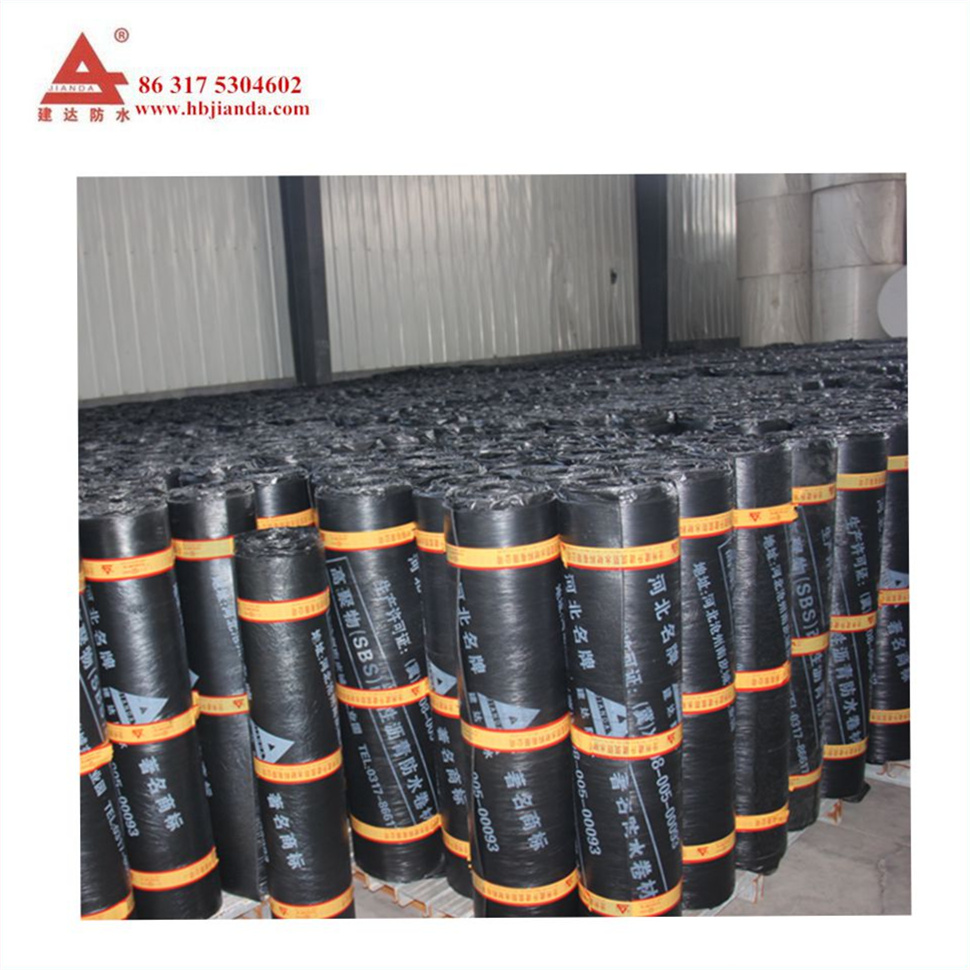 Best Price 3mm SBS Self-adhesive Modified Bitumen Waterproof Membrane