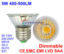 Energy saving cob / smd glass aluminium most powerful led spotlight gu10 e27 mr16 led spot light