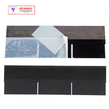 onyx black 3-tab single layer asphalt shingles
