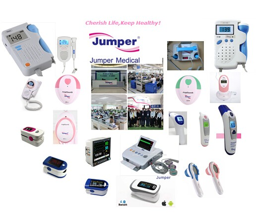 Portable CTG Fetal Monitor JPD-300P for Hospital and Clinic use, CE marked