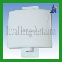 Bluebooth Indoor directional 450-470mhz UHF rfid flat panel patch antenna