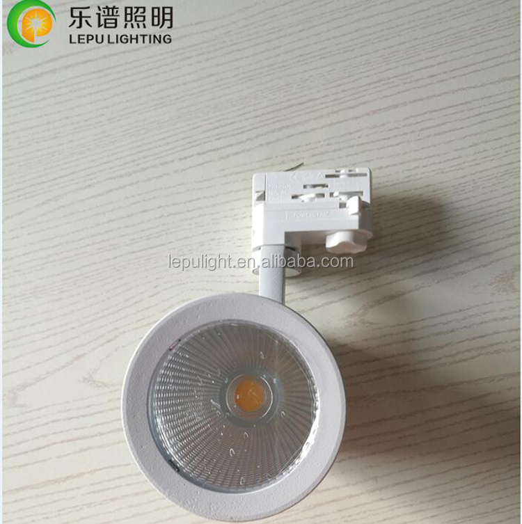 Non dimmable Tridonic driver high power 28w 35w 4 wires Europe standard cob track light 5years warranty