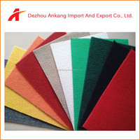 Alibaba Low Price 100% Polyester Needle Punch Anti-slip Exhibition Carpet