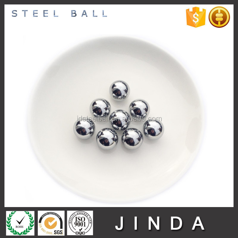 Chrome plated mirror ball hollow steel ball with hole