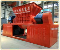 Widely used strong and stable waste tire shredder recycling line