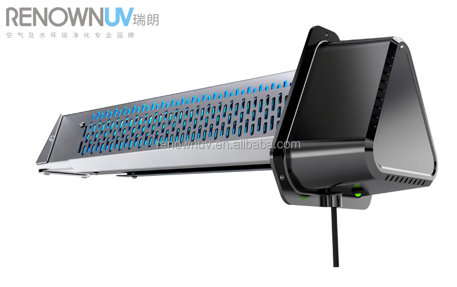 HVAC duct UV light air purifier