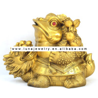 BrassFabulous Hong Tze Collection frog feng shui ,money frog ,Money Toads