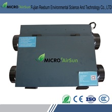 Auto defrosting heat recovery air ventilator systems
