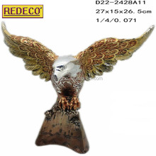 Resin eagle sculpture