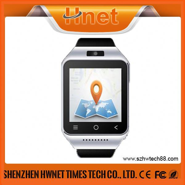 Pedometer wrist watch mobile phone with video call 3g watch phone