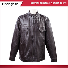 Chonghan Pakistan Wholesale Newest Style Leather Jackets For Men