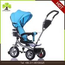 2017 Hot selling Best Safety Kids Push Trike Cheap Children Tricycle for Baby