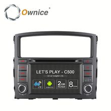 Ownice factory price Octa core Android 6.0 car DVD GPS for mitsubishi Pajero 2006 with RDS support DSP dvr TV