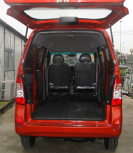 Left Hand Driving Eruo IV Gasoline Engine 8 Seats or 600 KG Loading Capacity China Multi-purpose Minivan