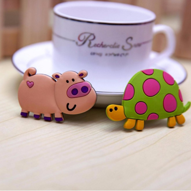 1Pcs Coffee Cup Magnets PVC Kitchen Supplies Fridge Magnets Fridge Magnet