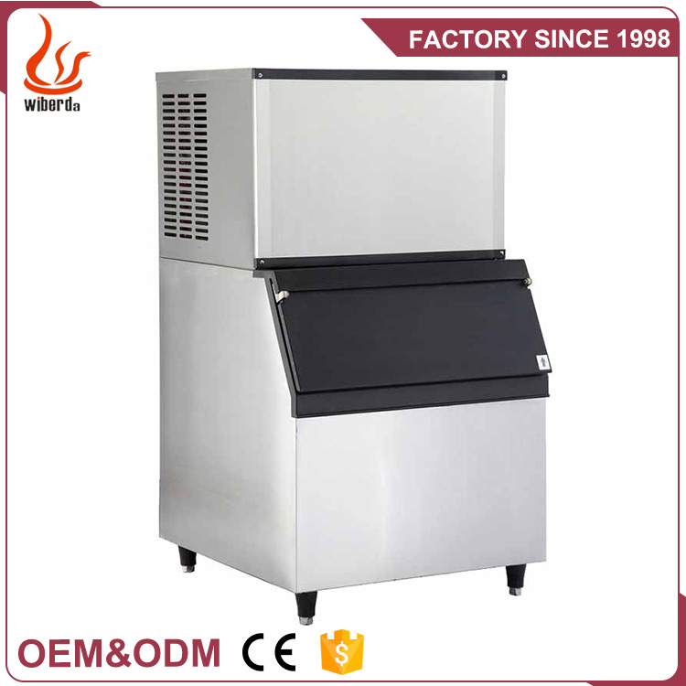 Wiberda Manufacturer High Capacity Multifunctional large split commercial cube ice maker NBL20