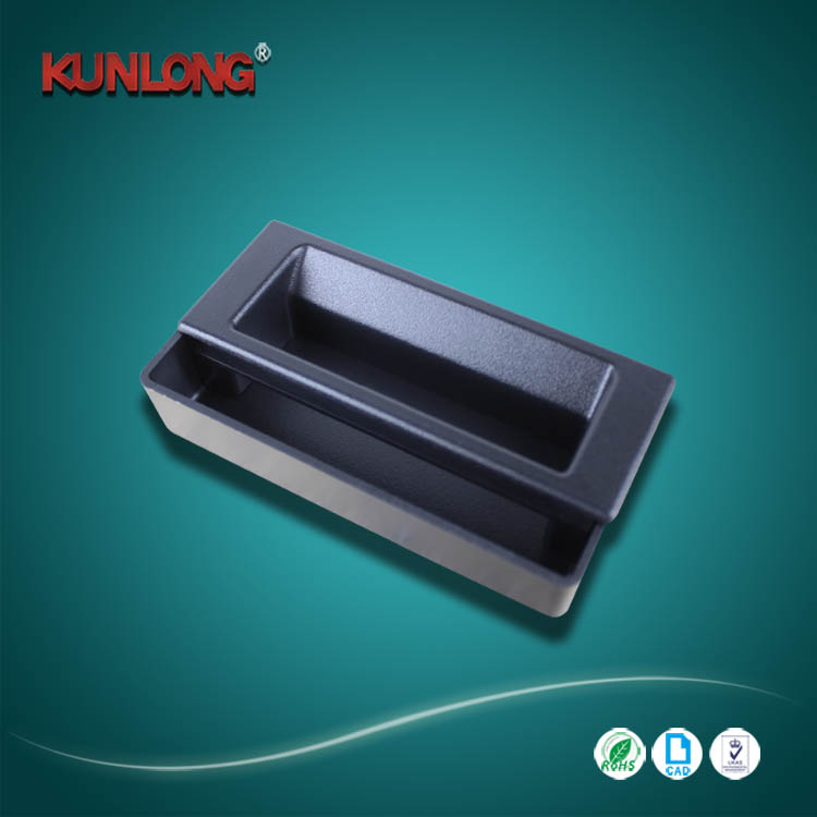 Hot sale Industrial cabinet plastic flush pull handles
