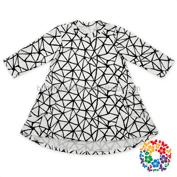 OEM Service Baby Boutiques Kids Frock Design For 4 Years Old Baby Girl