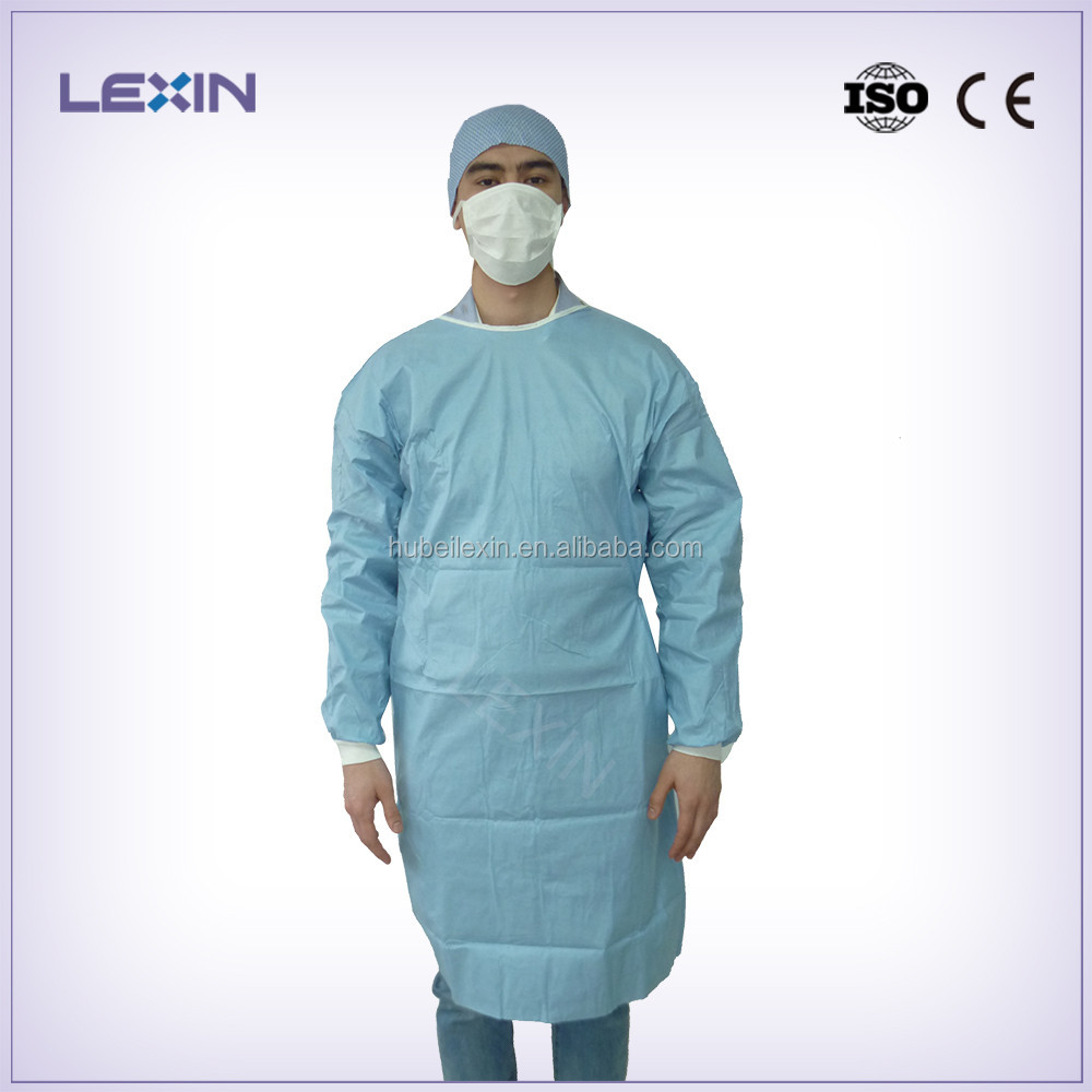 Disposable sterile operation gown