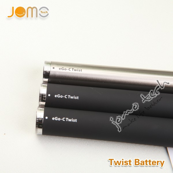 2014 New Arrival Fashion Designed E Cigarettes e go twist 1100 ego battery