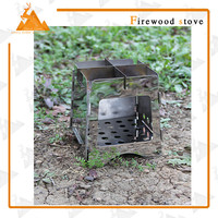 Convenience camping stove portable fire king wood stove
