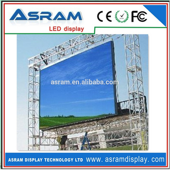 building highway P16 full color outdoor led advertising billboard