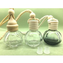 15ml Tiny glass hanging car air freshener refill bottle