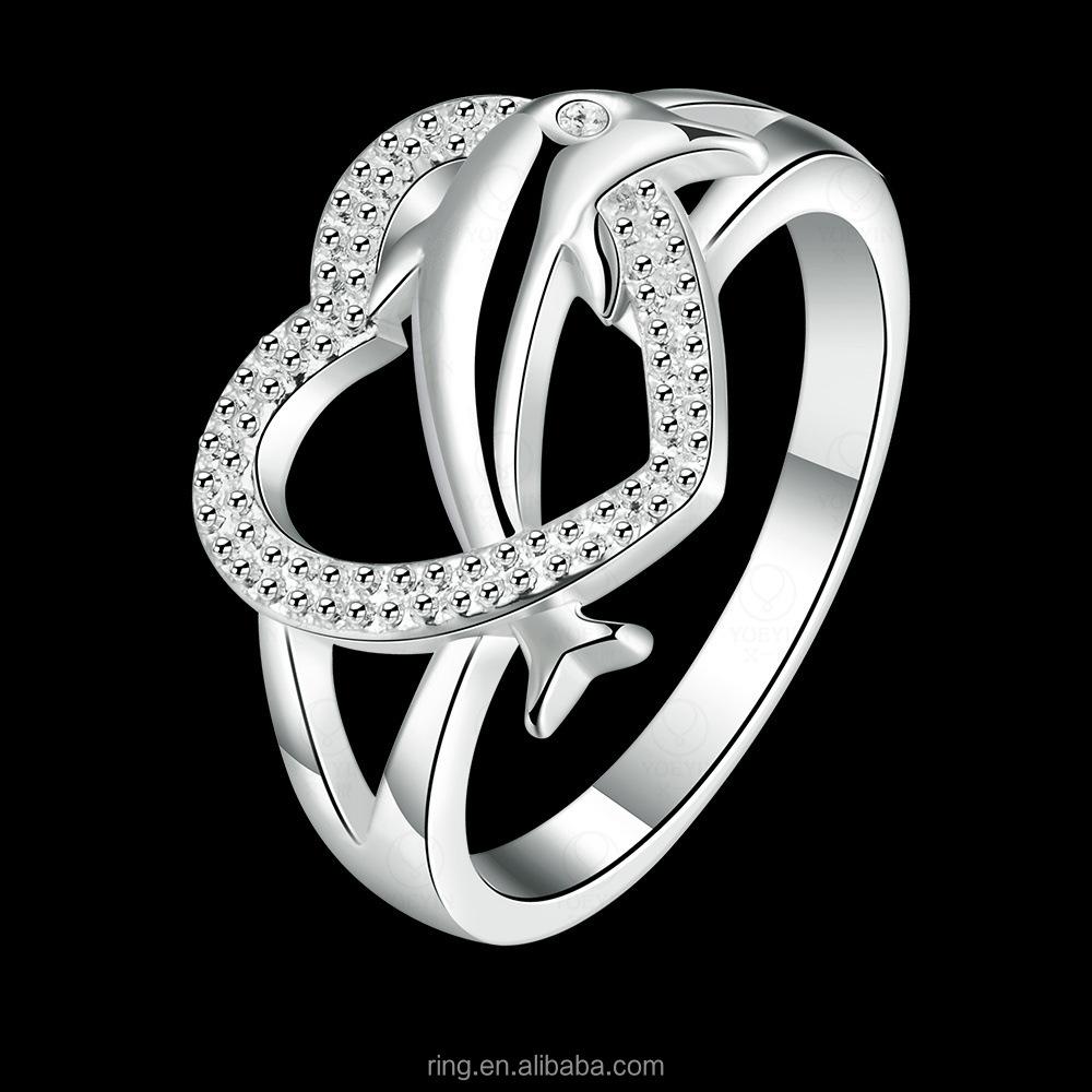 dolphin wedding rings dolphin wedding rings Silver Dolphin Wedding Rings