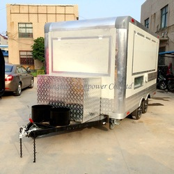 CP-A230165210 Quality snack food cart yogurt chestnut vending trailer hot dog van with Trade Assurance