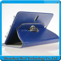 leather cover for 8 inch tablet pc Magic sticker hook leather case for Android tablet new hot product design