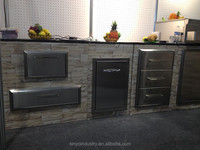 Stainless steel bbq drawers for outdoor kitchen