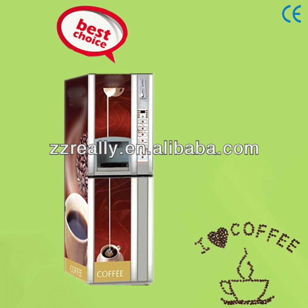 Best Price Large Capacity coin operated nescafe coffee vending machine for sale