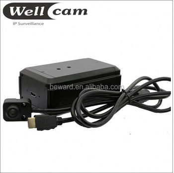 2MP 1080P Pinhole lens Hidden IP Camera Discreet Surveillance Camera