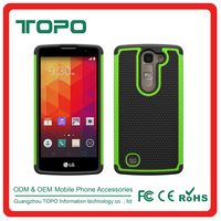 [TOPO] 2016 PC + Silicone+TPU Combo 3 in 1 combo footbal skin shockproof case For LG G4 Mini G4C