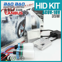 Gernuine Hylux 2A88 canbus hid ballast with cnlight metal base hid bulb,leader canbus hid kit with 3years warranty!!