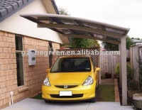 Freesky outdoor used aluminum frame mental carports sale, villa car shed