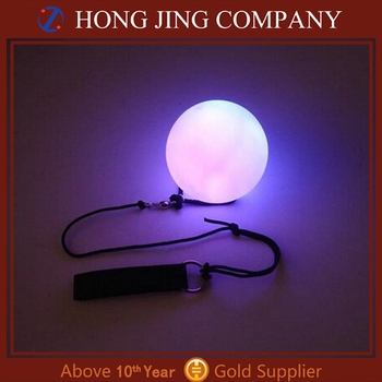 Top quality poi balls with led lights for belly dance