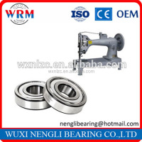 Drawn cup deep groove ball bearing 6215 with open ends