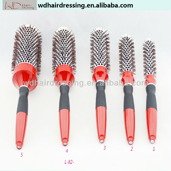 Anti-static Brush Hair Dryer With Comb