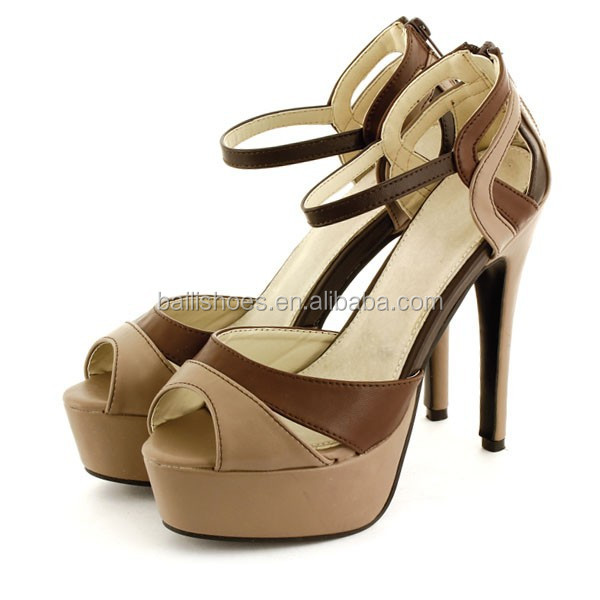 New style high heel shoes ladies ,color high heel stiletto lady fashion shoe