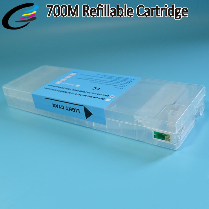 Auto Reset Chip Cartridge for Epson Stylus Pro 9890 7890 Printer Cartridges with Ink Bag