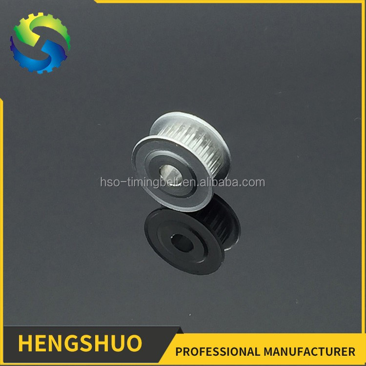 Straight Bore Aluminium synchronous round timing pulley teeth diameter 5mm pulley