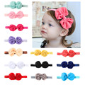Bow baby Chiffon hair band / fashion children hair accessories / children headdress hair accessories