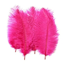 Queena 35-40cm ostrich hair Wedding feather decorations