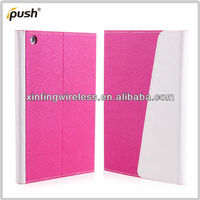 High Quality Ultra Thin PU Leather Smart Cover Case For iPad 2 Mini