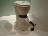 1.0L 10 Cup Capacity White Color Electric Coffee Maker