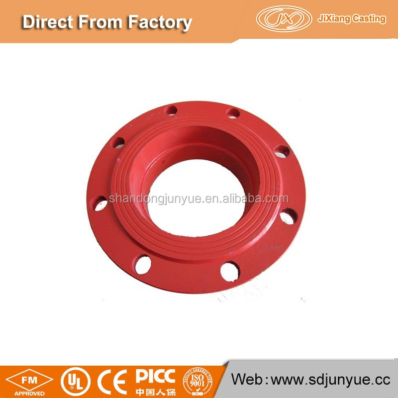 Export To Turkey Market Flange Connector Adaptor Ppr Ductile Iron Pipe Fittings with JX Casting Factory